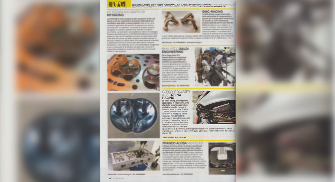 Porsche Boxster - torino racing elaborazioni