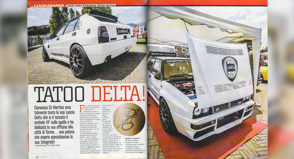 Tatoo Delta - torino racing elaborazioni pag 1-2