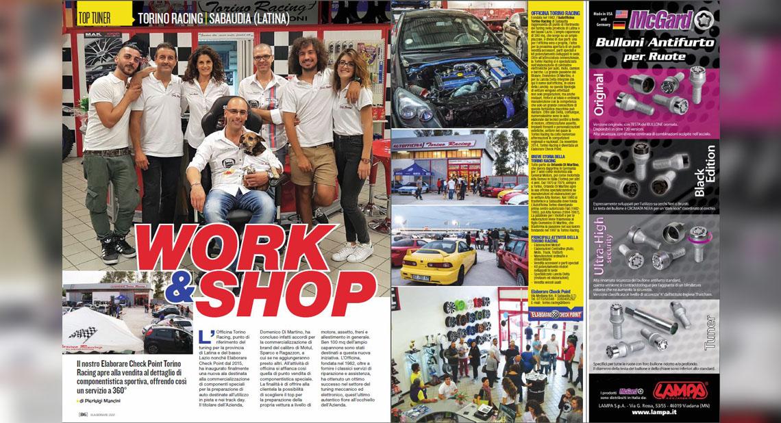 Work e shop - torino racing elaborazioni