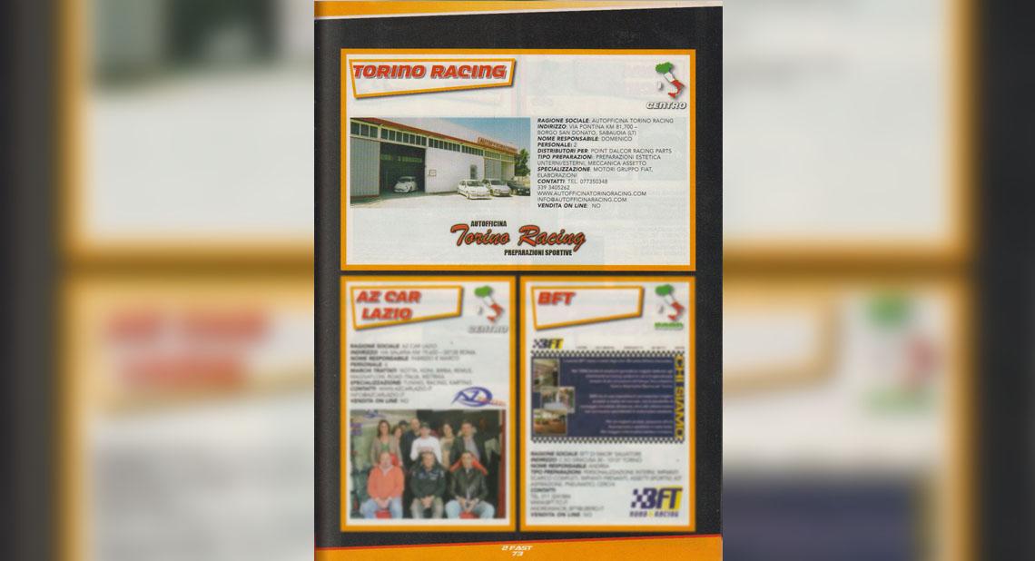 Torino Racing Elaborazioni -Fast Tuning