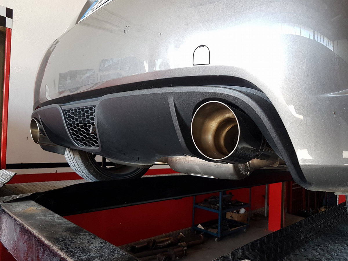 Fiat 500 Abarth scarichi 3
