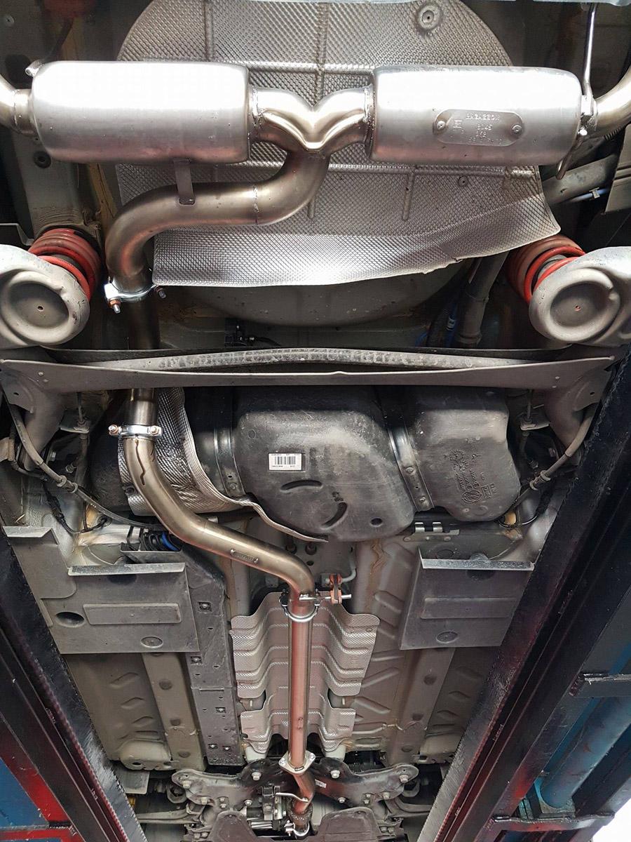 Fiat 500 Abarth scarichi 4